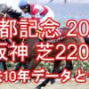 【京都記念 2021】過去10年データと予想