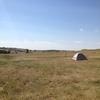 ナショナルパークでキャンプ ~満点の星空の下、遠吠えを聞き興奮~ サウスダコタのどこか
