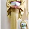 風炉開き 5月最初のお茶のお稽古はよろけ格子の小紋に花菖蒲の帯で