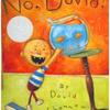 イヤイヤ期は世界共通、笑ってしまおう No David!