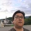 会津高原たかつえ 白樺の湯の夕方。