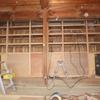 工作室の機材保管棚が完成しました。