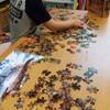 4歳の長男が300ピースのジグソーパズルを1時間ちょっとで完成させた件