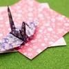 「折り紙、折り鶴、千羽鶴」を簡単な英語で説明する