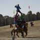 草原の乗馬パフォーマンス-満天の星空を見に行くために内モンゴルへ(7)