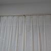 Web内覧会~LDKのタチカワブラインドのロールスクリーンとカーテンレールとニトリのカーテン