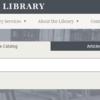 プリンストン大学図書館の新オンラインカタログのレビュー