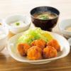 やよい軒定食「から揚げ定食」…角ハイボールとでハイカラ!^^