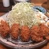 【中目黒】富士㐂(ふじき)でトンカツ食べずにカキフライ定食