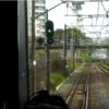 成田エクスプレス40号の進路違い