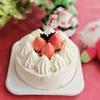 ローソンストア100のクリスマスケーキ1500円を当日予約なしで購入ヤマザキでした【コンビニのホールケーキ】