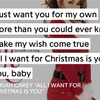 All I Want For Christmas Is You のサビコーラスの歌詞