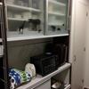 本日は、食器棚の中を公開!断捨離に燃えています!!