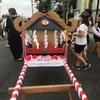 強化ダンボール製のお神輿 作りました!!