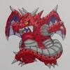 ミルドラース(ポケモン風) Mildrath , Pokémon style.