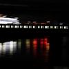 夜の南海本線を流し撮り