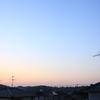 4月15日(火)晴れ 月の出時、月食