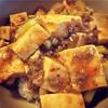 昼下がりの簡単麻婆豆腐(と炊飯器豚)