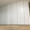 間仕切り開閉壁と壁一面収納でスッキリ開放リノベ