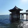 静かに手をあわせることのできる浮御堂近くの伊豆神社で初詣