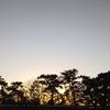 夕焼け空を見ながら、久々のランニング