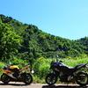 変態舗装林道ツアー