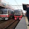 岡崎まで電車さんぽ - 2018年4月ついたち