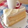 ハーブスのケーキで朝食を。鍋の取っ手には注意せよ