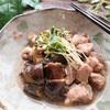 豚肉となす、しめじのあんかけ【#豚肉 #なす #あんかけ #レシピ #簡単】