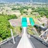 五輪ジャンプ台のあるスキーの村! 長野県白馬村(116/1741)