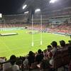 ラグビーW杯日本対サモア戦100点満点の結果でしたね!トヨタスタジアムで生観戦