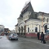 《ロシアの旅⑧》いよいよ日本に帰ります!ウラジオストクから空港に向かう、アエロエクスプレスで空港に来ました。