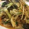 らーめんはうす 肉野菜炒め+ライス 1000円