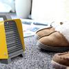ファンヒーター「iSiLER」コンパクトだけどパワフルに足元を温めるのに最適です