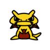ピカチュウ(ポケモン)の色のぷちゴン|ぷちゴン