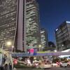 5.25.(金・晴れ)追証続き。日大学長会見。新宿。