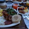 HGVCキングスランドのビストロで朝食ビュッフェ☆1人分オーダーで2人目無料のスペシャルクーポンを利用しました!