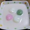 【今日の食卓】カノム・ブア・ロイ~白玉団子のココナッツミルク煮