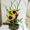 今日の活け花