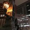 【東京散策】茅場町~日本橋・さくら通りの夜桜。花冷えの夜。見ごろはもう少し続くかも(2019/4/1)
