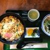 スワロー会館「親子丼・ミニうどんセット」