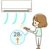 帰宅したらエアコンをつける前に、まず換気‼電気代の節約に♪