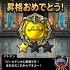 DQMSL 「マスターズGP」、1週目なんとか「ゴールデン★」まで昇格できました(^^)