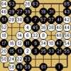 囲碁クエスト対決(9路盤・2級bot・白番)