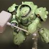 HGIB-O ガンダム・グシオン レビュー【ゴールド・シルバーの部分塗装で映える!】