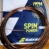 【最大限のスピンパワーを実現】バボラ RPMパワー インプレ