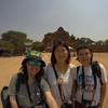 【バガン観光】旅友達2人とバガン仏教遺跡巡り