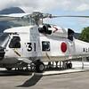 海上自衛隊 H-60系統の展示機