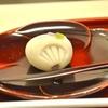 豊洲の「茂助だんご」で上生菓子(涼風)、アイスコーヒー。