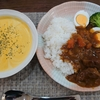 【料理】久しぶりのゴロゴロお肉のカレーライス!カボチャのポタージュ!